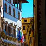 Buildings In Florence Italy Art Print