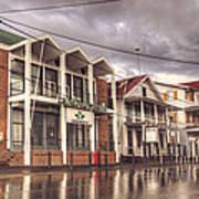 Buildings In Paramaribo Art Print