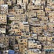 Buildings In The City Of Amman Jordan Art Print