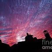 Builings In The Sky Art Print