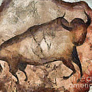 bull a la Altamira Art Print