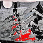 Bull Fight Matador Charging Bull Us Mexico Border Town Nogales Sonora Mexico Collage 1978-2012 Art Print