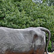 Bull Market Quadriptych 4 Of 4 Print by Christine Till