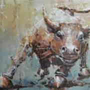 Bull Market Y Art Print by John Henne