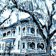 Bull Street House Savannah Ga Art Print
