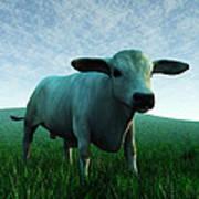 Bull... Art Print