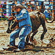 Bulldog It Art Print
