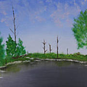 Bullfrog Reservoir Art Print
