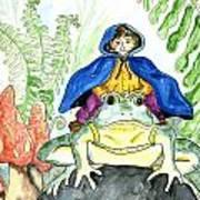 Bullfrog Steed Art Print