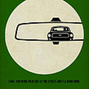 Bullitt Poster Art Print