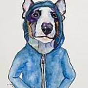 Bully For The Hoodie Art Print
