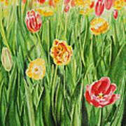 Bunch Of Tulips II Art Print