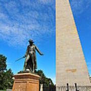 Bunker Hill Monument Art Print by Catherine Reusch Daley