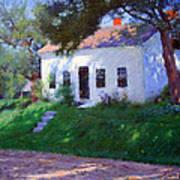 Bunker's Roadside Cottage Art Print