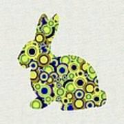 Bunny - Animal Art Art Print by Anastasiya Malakhova
