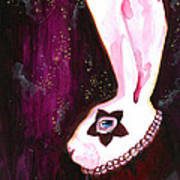 Bunny Rebellion  Art Print