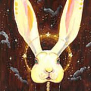 Bunny Yolo Art Print