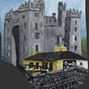 Bunratty Castle And Durty Nellys Art Print