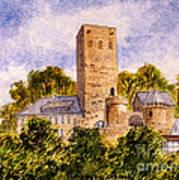 Burg Blankenstein Hattingen Germany Art Print