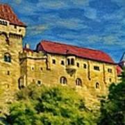 Burg Liechtenstein Art Print