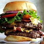 Burger - Fast food Serie Art Print