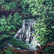 Burgess Falls State Park Tn. Art Print by W  Scott Fenton