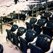 Buried Gillette Stadium Seats Art Print