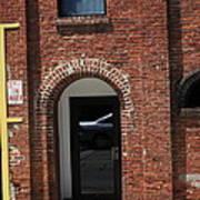 Burlington North Carolina - Brick Entrance Art Print