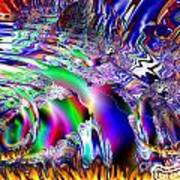 Burnin Up The Galaxy Art Print by Bobby Hammerstone