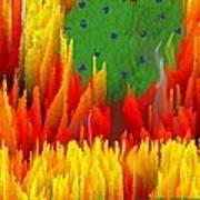 Burning Bush Art Print
