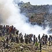 Burning Contraband Goods, Ethiopia Art Print