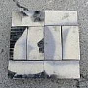 Burnt Brick 1 Art Print