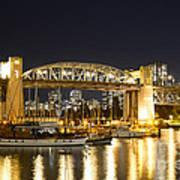 Burrard Bridge Vancouver Art Print