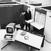 Burroughs 6500 Computer System Art Print