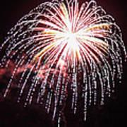 4th Of July Fireworks 9 Art Print