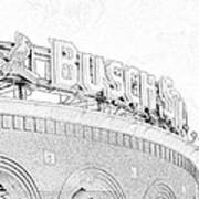Busch Sta Line Art Print