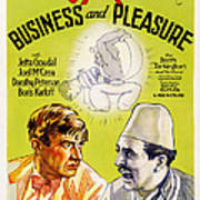 Business And Pleasure, Left Will Art Print