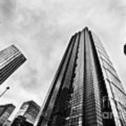 Business Architecture Skyscrapers In London Uk Art Print