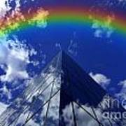 Business Rainbow And Rays Of Light Art Print
