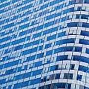 Business Skyscrapers Modern Architecture Art Print by Michal Bednarek