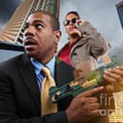 Business War Game Art Print