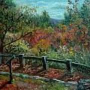 Bussey Hill View Art Print