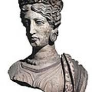 Bust Of A Woman. 4th C. Bc Art Print
