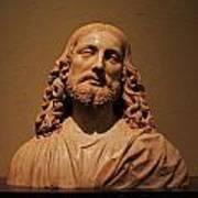 Bust Of Jesus Christ At Mfa Art Print
