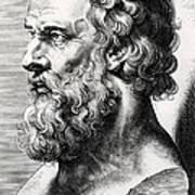Bust Of Plato  Art Print