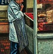 Butchers Profit Art Print