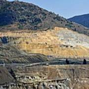 Butte Berkeley Pit Mine Art Print