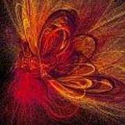 Butterfire Art Print