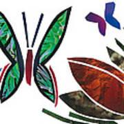 Butterflies Art Print by Earl ContehMorgan