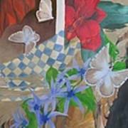 Butterflies In The Breeze Art Print